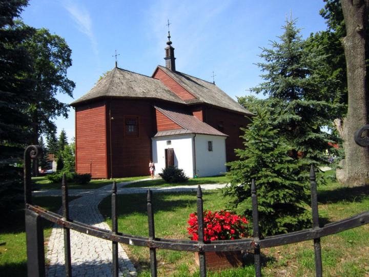 kościół w Gliniance